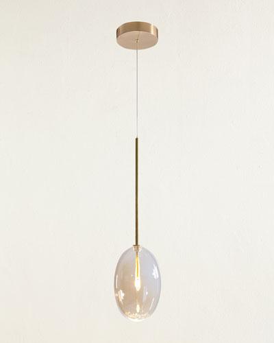 Echo Single-Light Drop Light Pendant