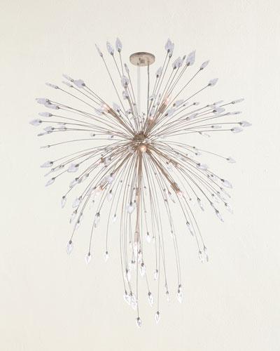 Reveille 10-Light Crystal Pendant