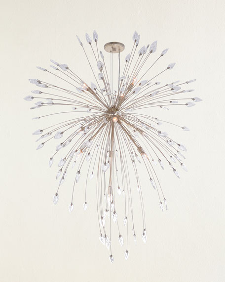 Reveille 10-Light Crystal Pendant