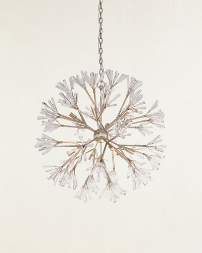 Luna 12-Light Crystal Branched Pendant