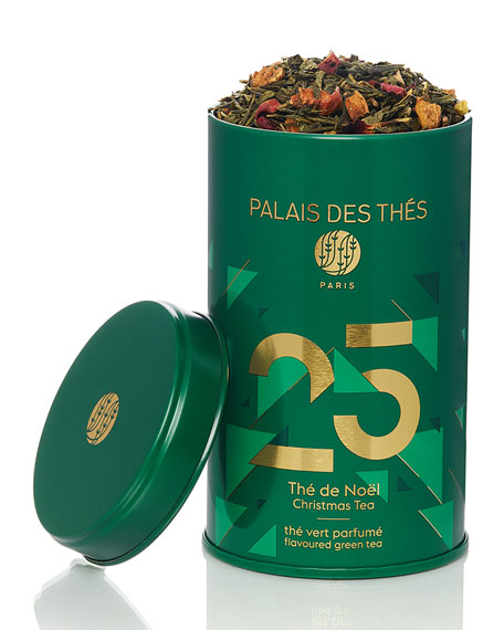 N25 Holiday Blend Green Tea Loose Tea Tin