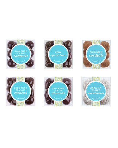 Chocolate Lovers Delight Small Cube 6-Piece Kit