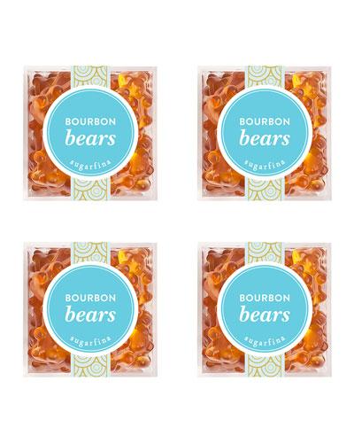 Bourbon Bears Small Cube 4-Piece Kit