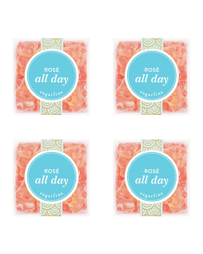 Rose All Day Bears Small Cube 4-Piece Kit