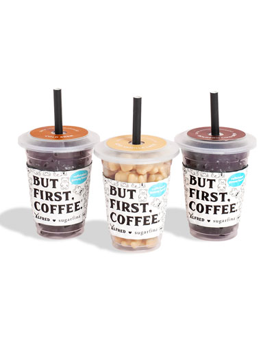 Alfred Mini Coffee Cup 3-Piece Candy Set