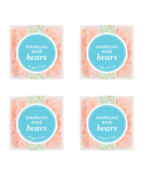 Sparkling Rose Bears Small Cube 4-Piece Kit