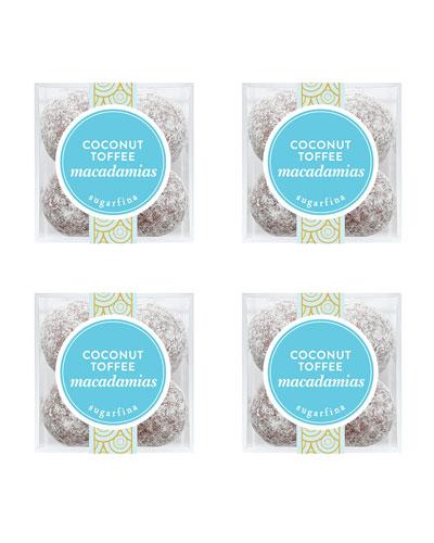 Coconut Toffee Macadamias Small 4-Piece Kit