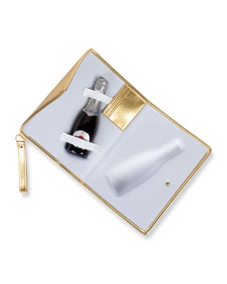 Champagne Gold Small Clutch