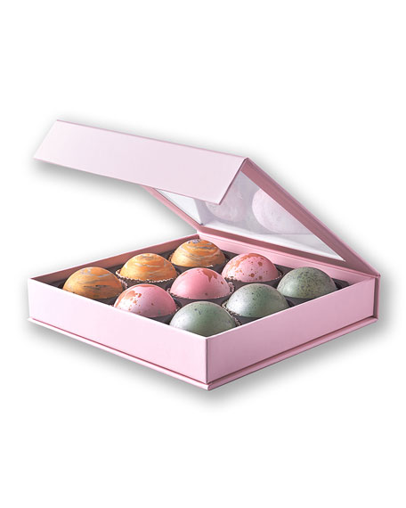 Flair Chocolatier Elegant Box of 9 Truffles