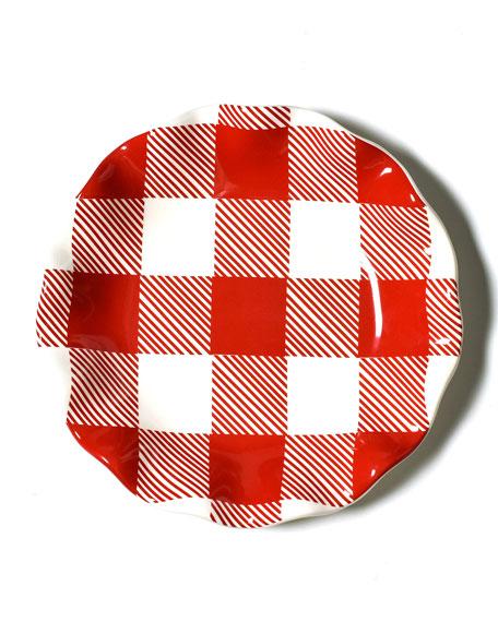 Buffalo Ruffle Salad Plate