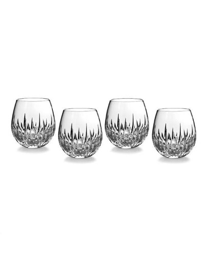 Southbridge Stemless Red Wine Glasses  Set of 4