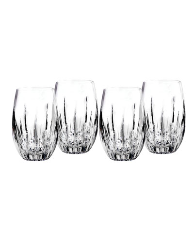 Southbridge Stemless Wine Glasses  Set of 4