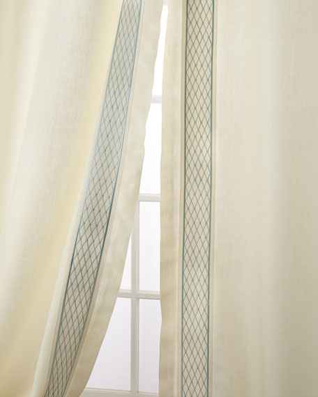 """Set of Two Ambrosia Curtain Panels, 108"""""""