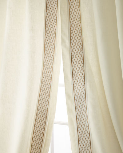 Set of Two Ambrosia Curtain Panels  96