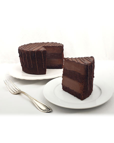 Chocolate Midnight Marquise Cake