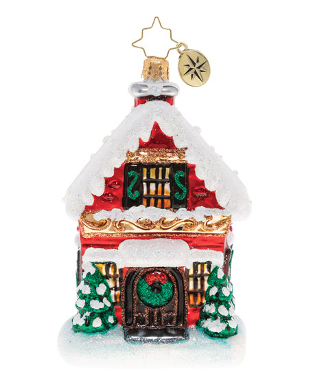 Built Brick By Brick Christmas Ornament