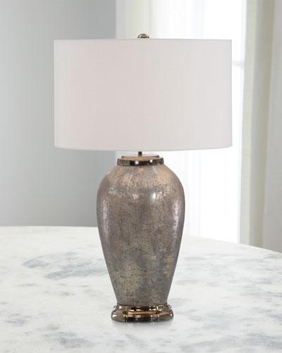 Antiqued Bronze Table Lamp