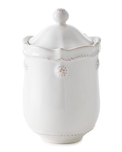 Berry & Thread Whitewash Lidded Jar