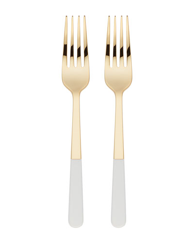 with love 2-piece tasting fork set