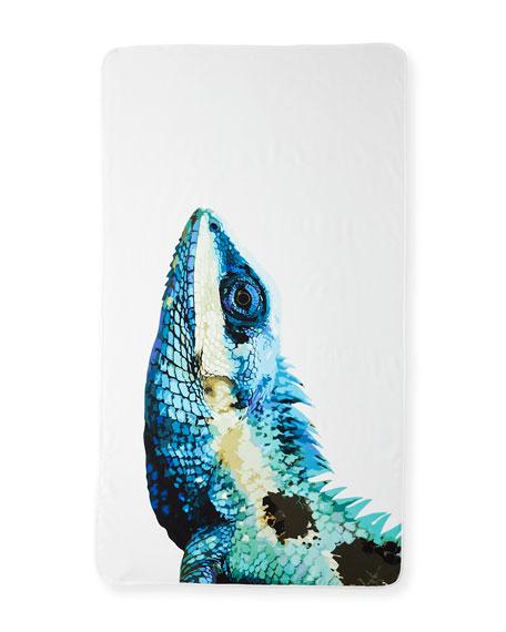 Graccioza Iguana Beach Towel