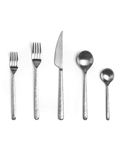 Linea Leaves 5-Piece Cutlery Set
