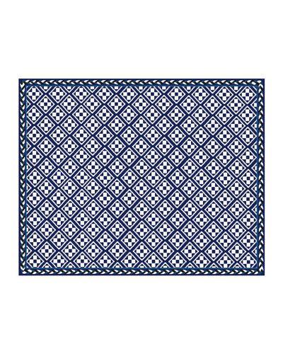 Courtyard Indoor/Outdoor Rug - 8' x 10' - Royal
