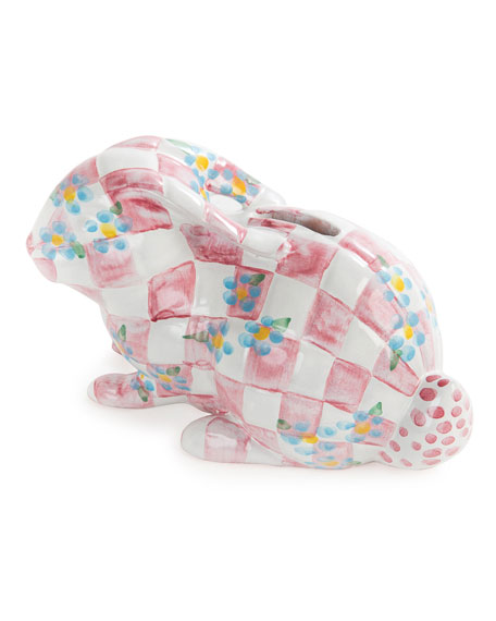 Handcrafted Bunny Bank, Pink