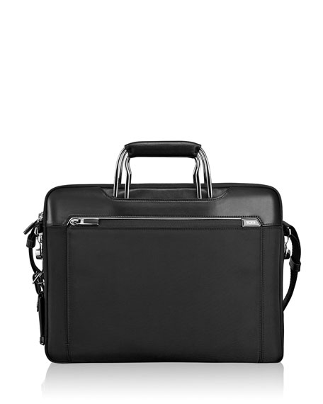 Tumi Arrive Black Hamilton Slim Brief