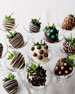 Chocolate Strawberries with Toppings