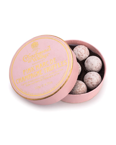 Pink Marc de Champagne Truffles