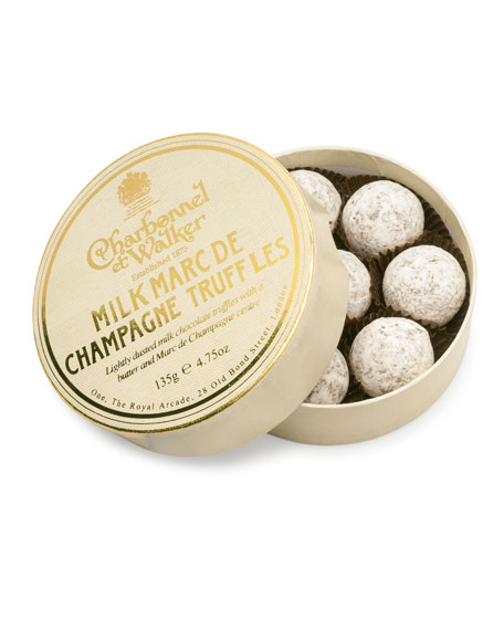 Milk Marc de Champagne Truffles