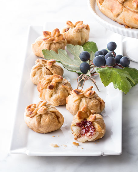 Brie Raspberry Bites, For 12 People