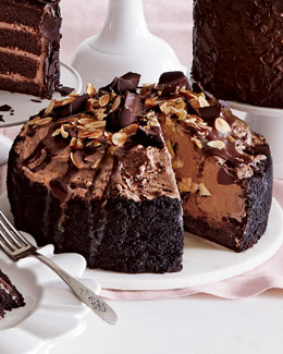 Chocolate Eruption Cheesecake