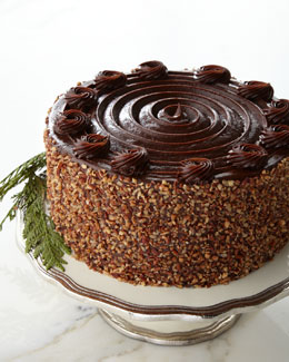 FROSTED ART BAKERY Texas Bourbon Pecan Cake