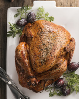 Traditional Roasted Turkey