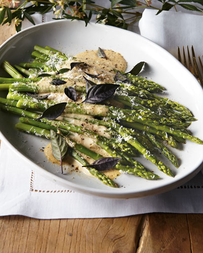 Creamy Parmesan Asparagus
