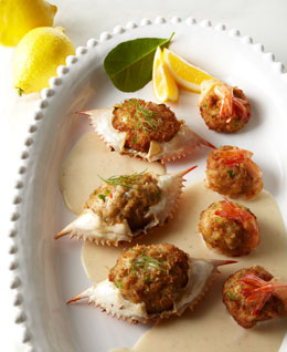 Stuffed Crab & Stuffed Shrimp