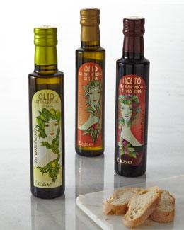 Fernando Pensato Art Nouveau-Inspired Italian Olive Oil & Balsamic Vinegar