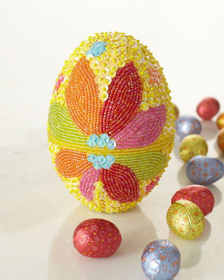 Limited Edition Beaded Egg