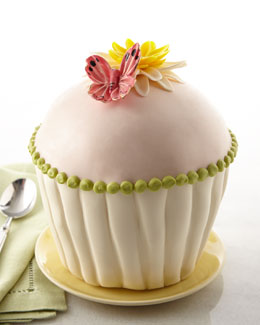 Daisy Cupcake Cake