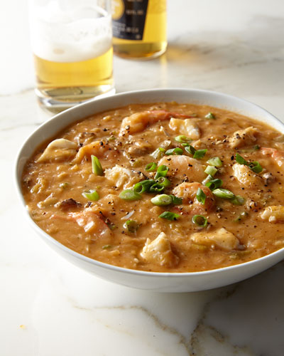 Crab & Shrimp Etouffee