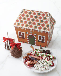 Mrs. Prindable's Gingerbread House Basket