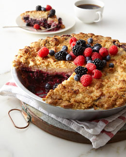Deep-Dish Mixed Berry Pie