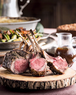 Chef Dean Fearing's Roasted Rack of Lamb Dinner