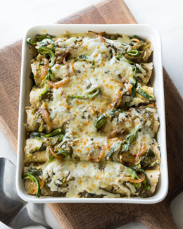 Chef Dean Fearing Ranch Chicken Casserole