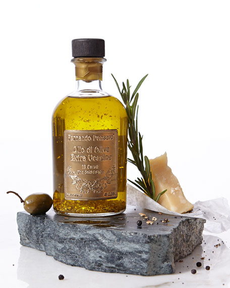 Olive Oil with 18-kt. Gold Flakes