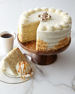 FROSTED ART BAKERY Bananas Foster Cake