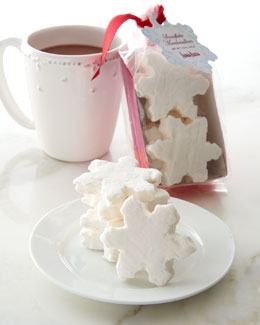 NM Snowflake Marshmallows