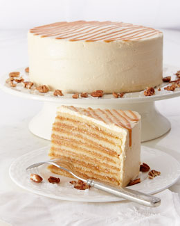 Caramel & Cream Cake