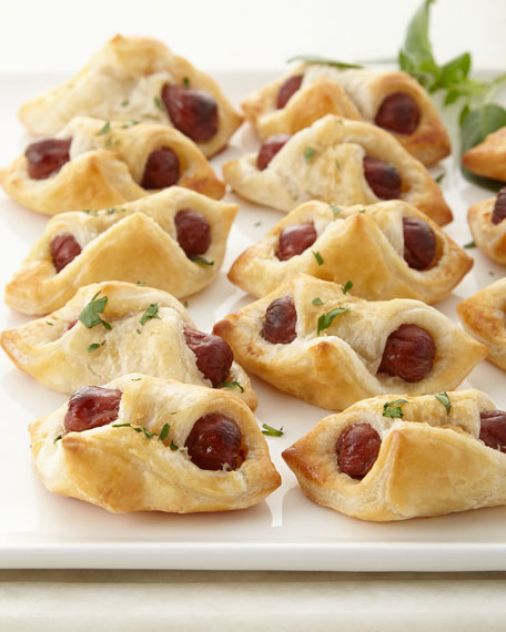 Mini Hot Dogs en Croute, For 10 People